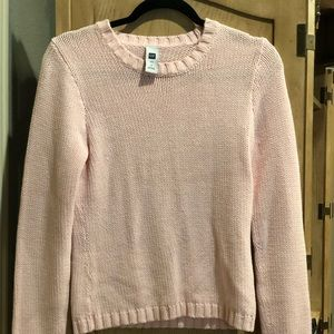 Soft Pink Gap Sweater